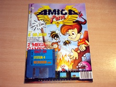 Amiga Fun Magazine - Nov 1990 + Disc