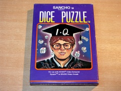 Dice Puzzle by Sancho