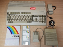 Amiga A500 Plus Computer + Upgrade