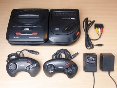 Sega Mega Drive and Mega CD II Combination