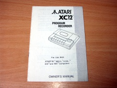 Atari XC12 Recorder Manual