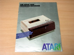 Atari 1010 Program Recorder Manual