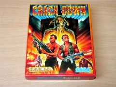 Crack Down by Sega / US Gold