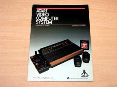 Atari VCS Owners Manual