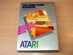 The Home Filing Manager by Atari