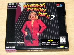 Who Shot Johnny Rock? by American Laser Games *MINT