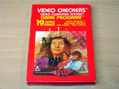 Video Checkers by Atari