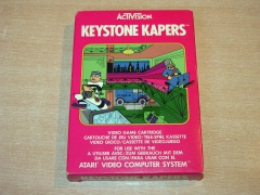 Keystone Kapers by Activision - Colour Label