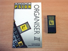 Psion Thesaurus & Spelling Checker