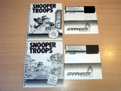 Snooper Troops Case 1 & 2 by Spinnaker Software