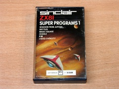 Super Programs 1 by Sinclair