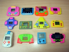 ** Collection of Twelve Handheld games