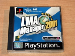 ** LMA Manager 2001 : Scottish League by Codemasters