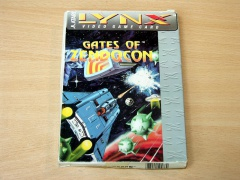 Gates Of Zendocon by Atari - Big Box