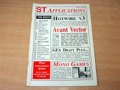 Atari ST Applications - Issue 13