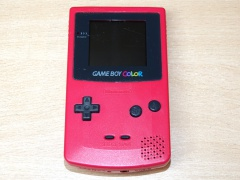 Gameboy Color Console - Red