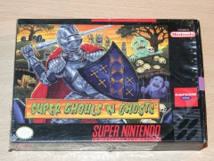 Super Ghouls n Ghosts by Capcom *Nr MINT