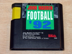** John Madden Football 92 by Electronic Arts