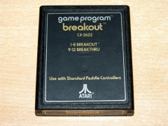 Breakout by Atari - Text Label