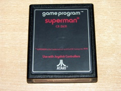 Superman by Atari - Text Label