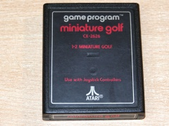 Miniature Golf by Atari - Text Label