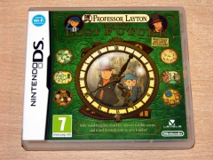 Professor Layton And The Lost Future by Level 5