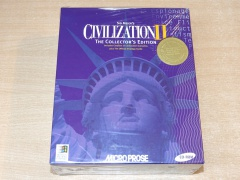 Sid Meiers Civilization II : Collectors Edition by Microprose *MINT