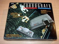 Turbografx PC Engine + Accessory Pack *Nr MINT