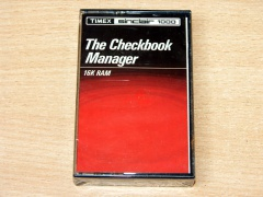The Checkbook Manager by Timex *MINT