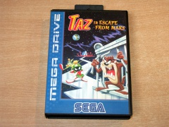 ** Taz In Escape From Mars by Sega