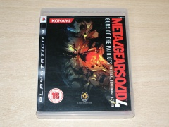 Metal Gear Solid 4 by Konami