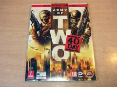 Army Of Two : The 40th Day Game Guide *MINT