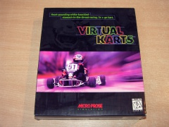 Virtual Karts by Microprose *Nr MINT