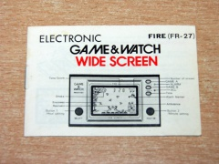 Fire Game & Watch Manual