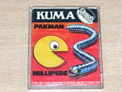 Pakman & Millipede by Kuma