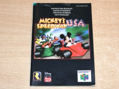 Mickey's Speedway USA Manual