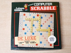 Scrabble De Luxe by Leisure Genius