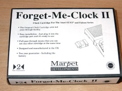 Forget Me Clock II by Marpet Developments