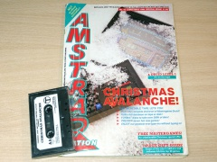Amstrad Action - Issue 16 + Cover Tape
