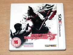 Resident Evil : The Mercenaries 3D by Capcom