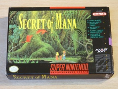 Secret Of Mana by Squaresoft *Nr MINT