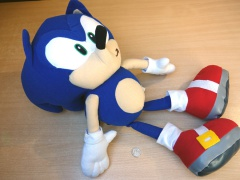 Sonic The Hedgehog Plush Toy by Gosh