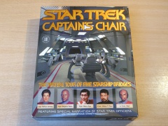 Star Trek : Captains Chair by Zablec