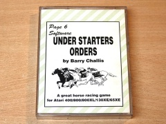 Under Starters Orders by Page 6 Software