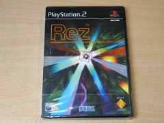 Rez by Sega *MINT - Euro Issue