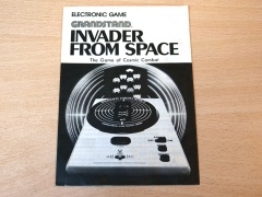 Invader From Space - Manual
