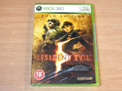 Resident Evil 5 : Gold Edition by Capcom *MINT
