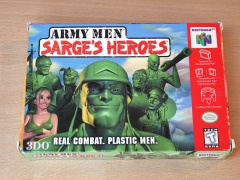 Army Men : Sarges Heroes by 3DO
