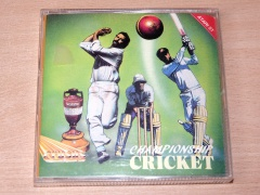 Championship Cricket by Crysys