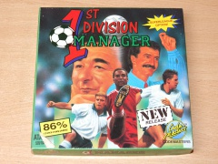 1st Division Manager by Codemasters